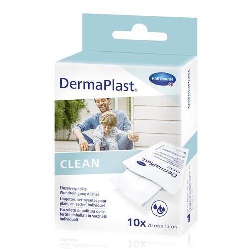 Bild von DermaPlast Clean Wundreinigungstücher 10 Stk