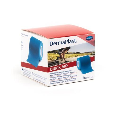 Bild von DermaPlast QuickAid blau 6cmx2m 1 Stk