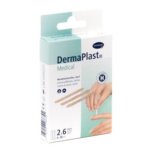 Bild von DermaPlast Medical Wundnahtstr 6x38mm 12 Stk
