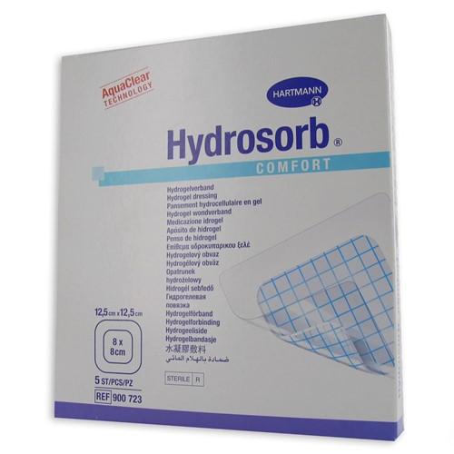 Bild von Hydrosorb comfort 12.5x12.5cm 5 Stk (Brandwundenpflaster)