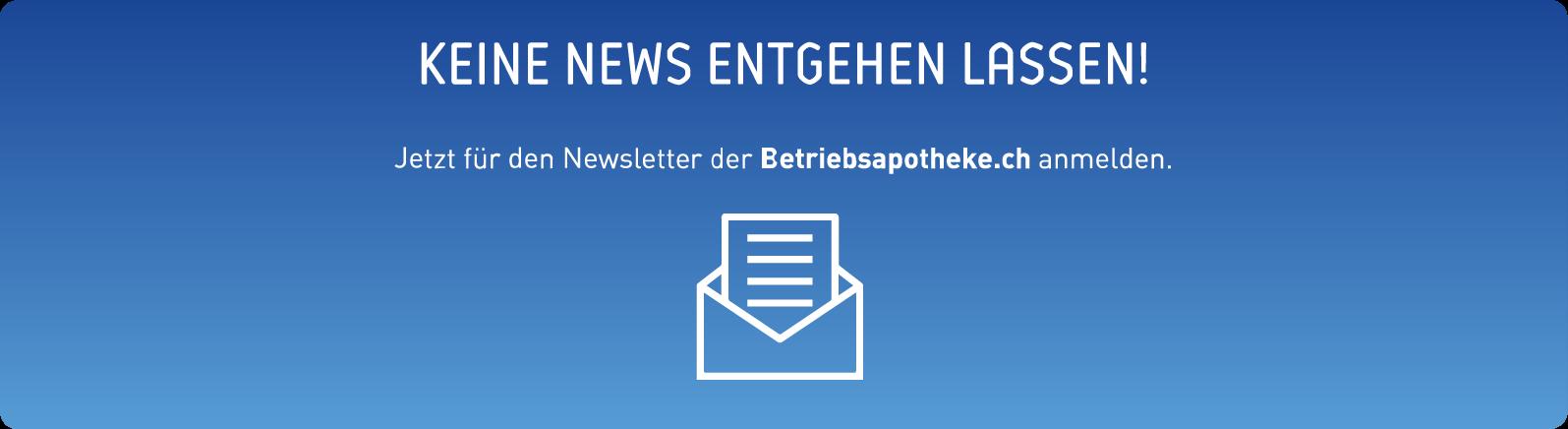 Keine Newsletter entgehen lassen!