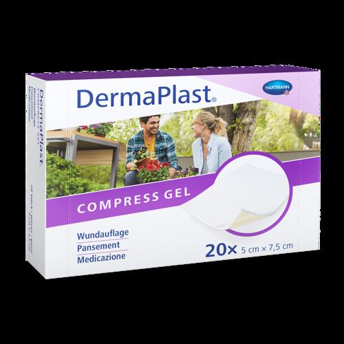 Bild von DermaPlast® Compress Gel 5 x 7.5 cm 20 Stück