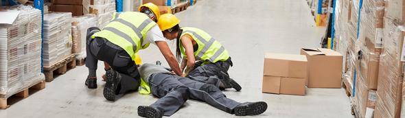 Welche Arten von Betriebsunfällen passieren wo?